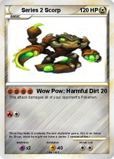 Pokemon Series 2 Scorp