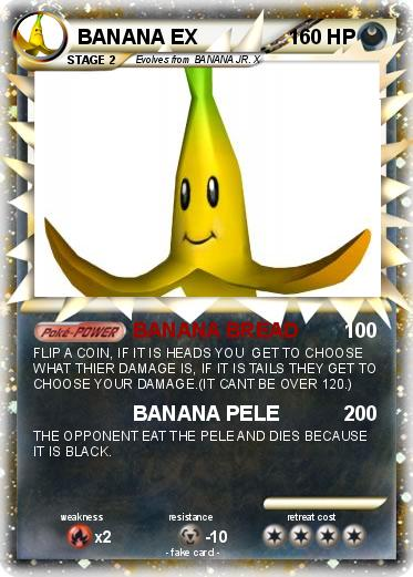 Pokemon BANANA EX