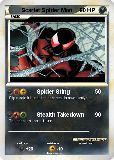 Pokemon Scarlet Spider Man