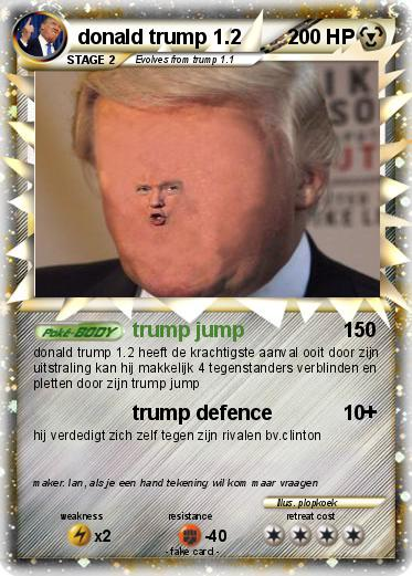 Pokemon donald trump 1.2