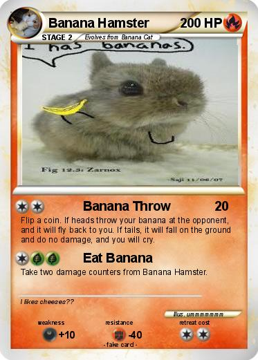 Pokemon Banana Hamster