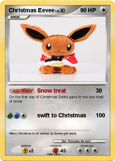Pokemon Christmas Eevee