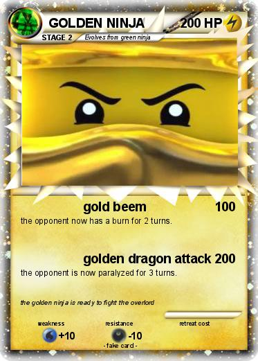 Pokemon GOLDEN NINJA