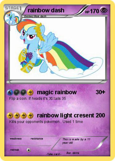 Pokemon rainbow dash
