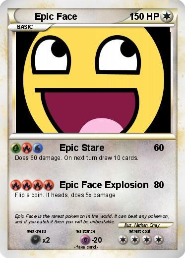 Pokemon Epic Face