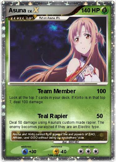 Pokemon Asuna