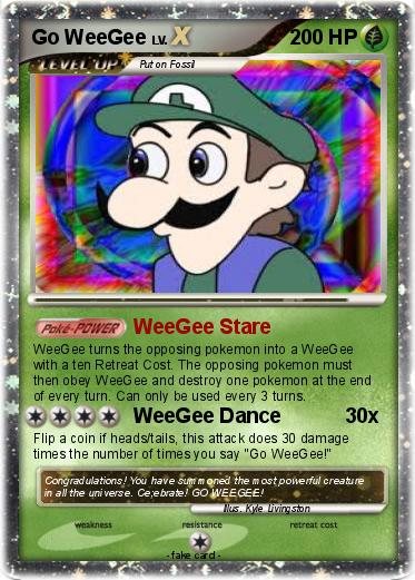 Pokemon Go WeeGee