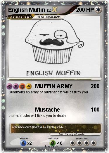 Pokemon English Muffin
