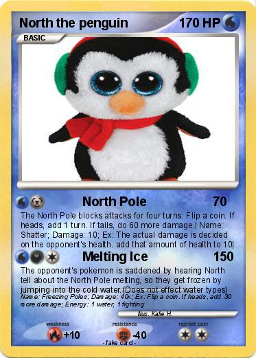 Pokemon North the penguin