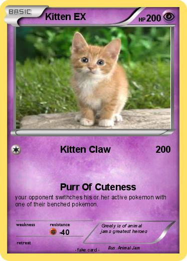 Pokemon Kitten EX