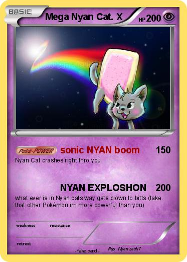 Pokemon Mega Nyan Cat. X