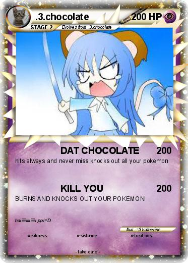 Pokemon .3.chocolate