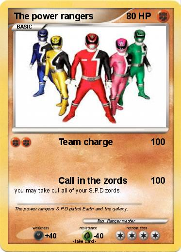 Pokemon The power rangers