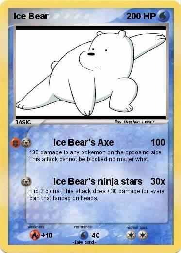 Pokemon Ice Bear