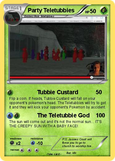 Pokemon Party Teletubbies