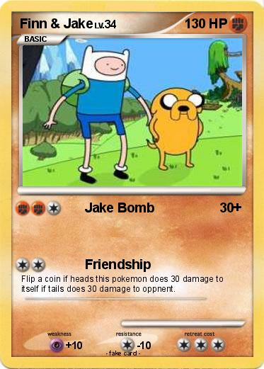 Pokemon Finn & Jake