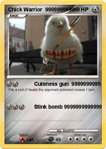 Pokemon Chick Warrior  9999999999