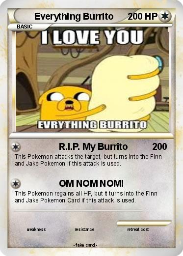 Pokemon Everything Burrito