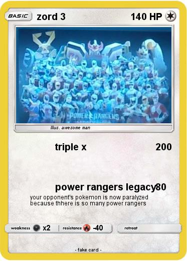 Pokemon zord 3