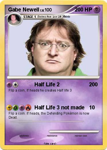 Pokemon Gabe Newell