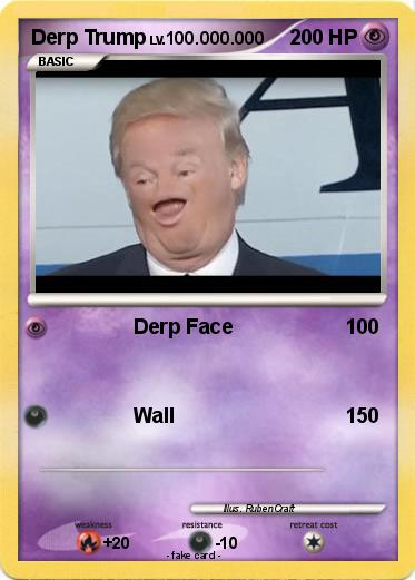 Pokemon Derp Trump