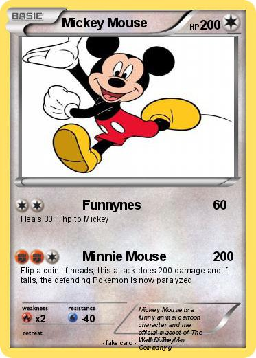 Pokemon Mickey Mouse