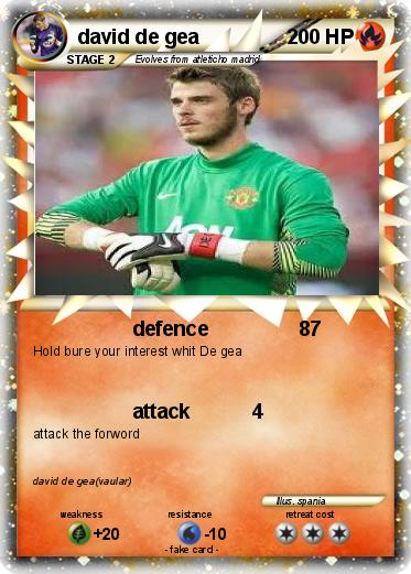 Pokemon david de gea