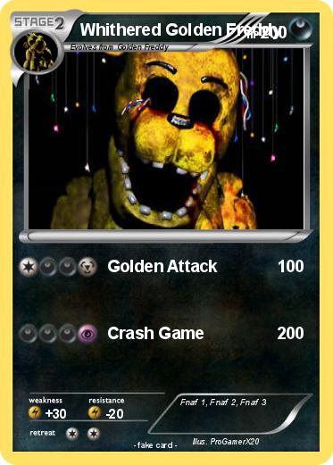 Pokemon Whithered Golden Freddy