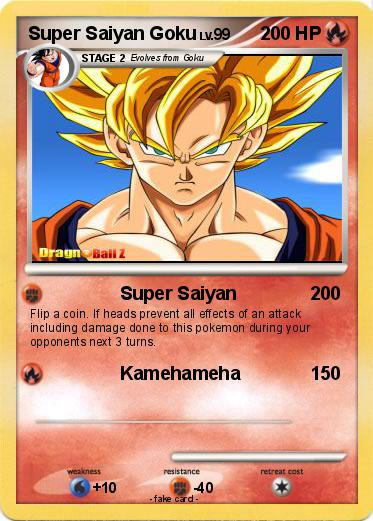 Pokemon Super Saiyan Goku