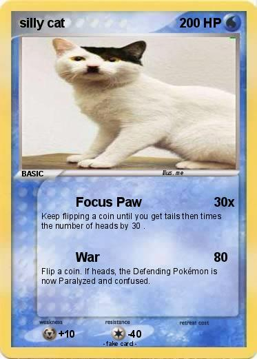 Pokemon silly cat
