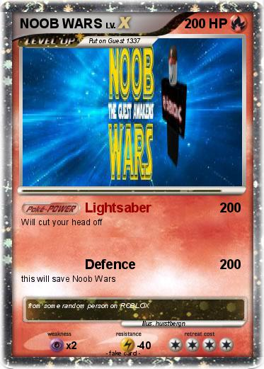 Pokemon NOOB WARS