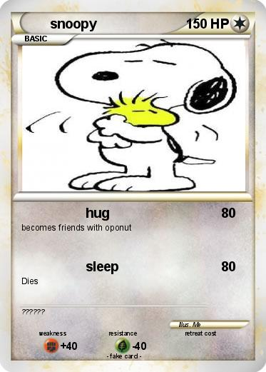 Pokemon snoopy