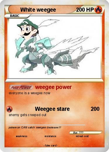 Pokemon White weegee