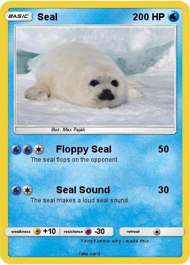 Pokemon Seal
