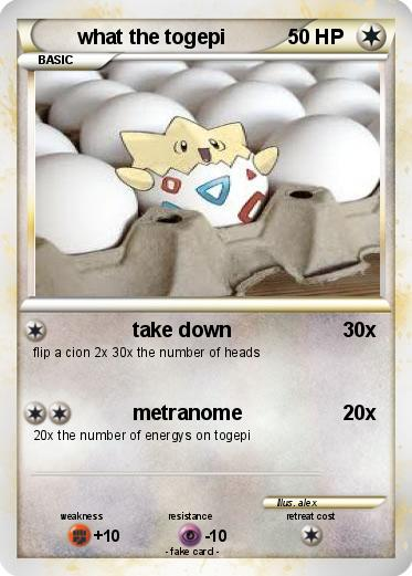 Pokemon what the togepi