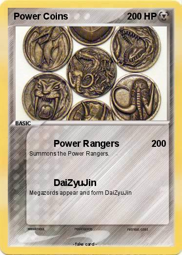 Pokemon Power Coins