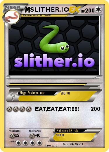 Pokemon SLITHER.IO