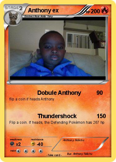 Pokemon Anthony ex