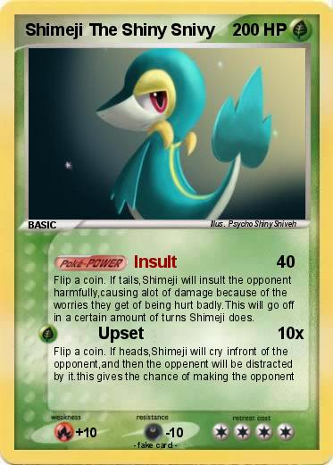 Pokemon Shimeji The Shiny Snivy