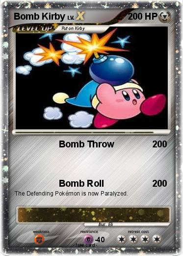 Pokemon Bomb Kirby