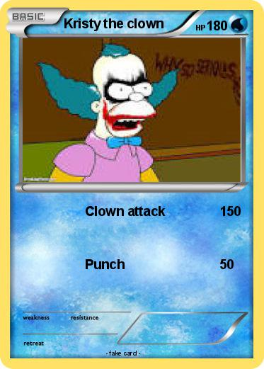 Pokemon Kristy the clown
