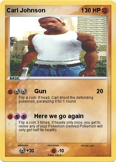 Pokemon Carl Johnson