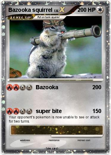 Pokemon Bazooka squirrel