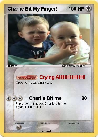 Pokemon Charlie Bit My Finger!