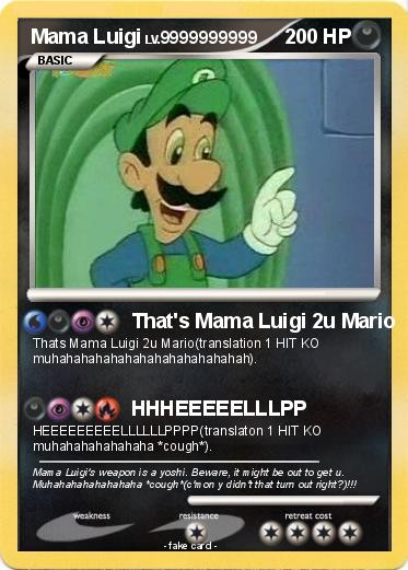 Pokemon Mama Luigi