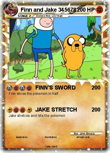 Pokemon Finn and Jake 345678