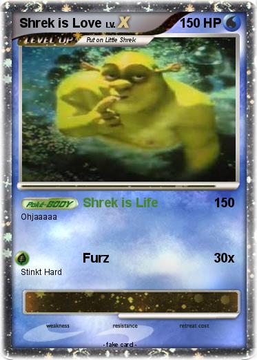 Pokemon Shrek is Love