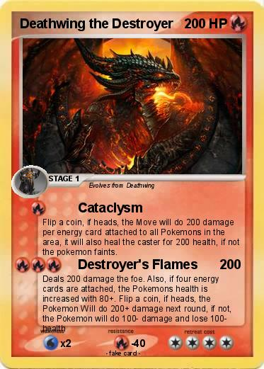 Pokemon Deathwing the Destroyer
