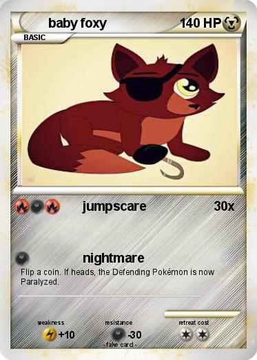 Pokemon baby foxy