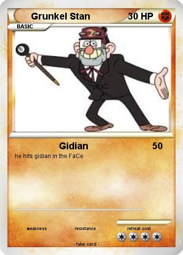 Pokemon Grunkel Stan